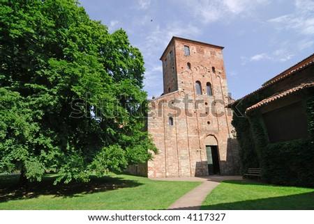 Sezzadio (Alessandria, Piedmont, Italy) - Abbey of Santa Giustina