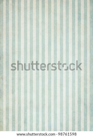 Shabby textile Background with colorful green and white stripes
