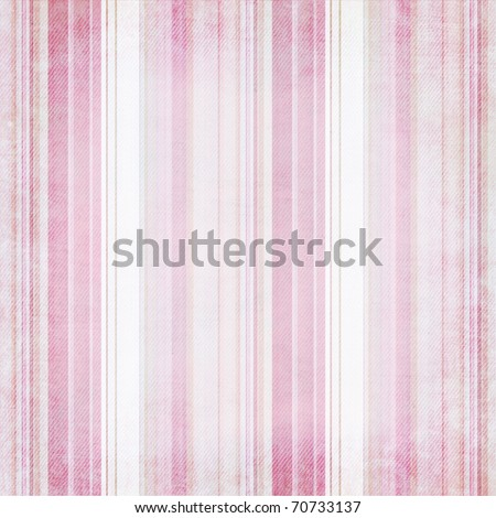 Stock Photo Shabby textile Background with colorful pink and white stripes