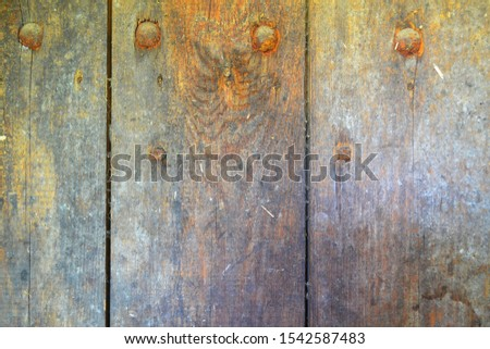 Shabby Wooden Planks rusty texture background