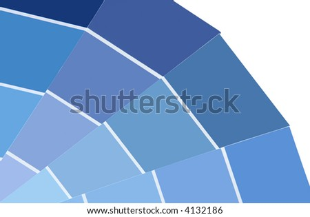 shades of blue. stock photo : Shades of Blue