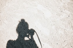shadow and sand
