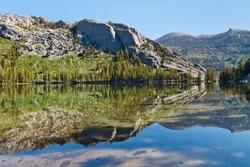 Shadow Lake, Ansel Adams Wilderness, Sierra Nevada, California, USA