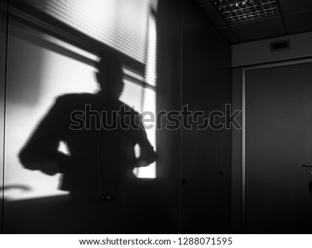 Shadows in the office #1288071595