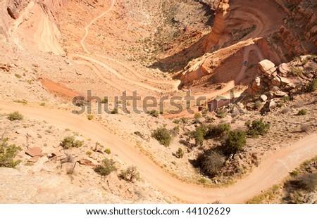 Shafer Trail road