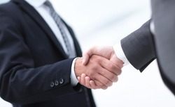Shake hands, agreed to between the two men in the businesses.