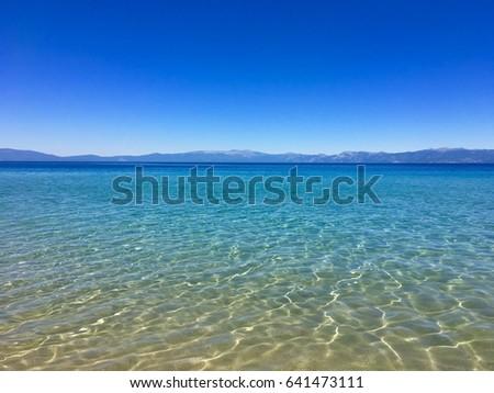 Shallow Water Photo stock ©