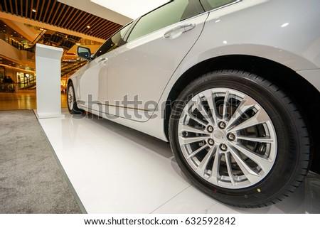 Shanghai-China:Apr.21, 2017: Cadillac Escala Concept car on display in Shanghai. #632592842