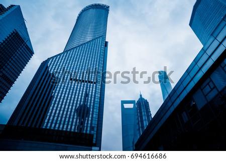 shanghai cityscape and skyline
