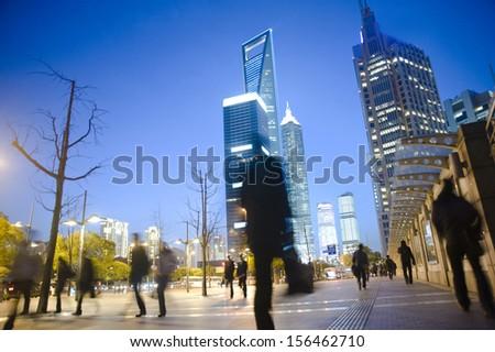 Shanghai Evening