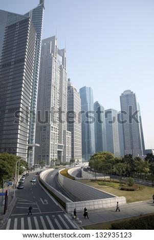 Shanghai high-rise building