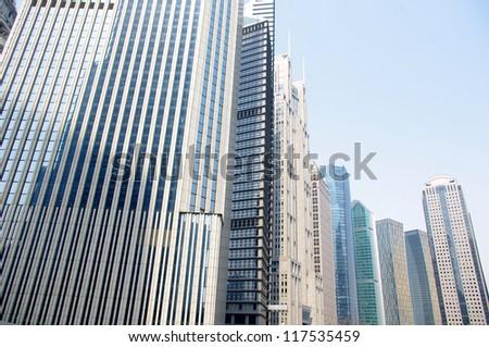 Shanghai high-rise buildings