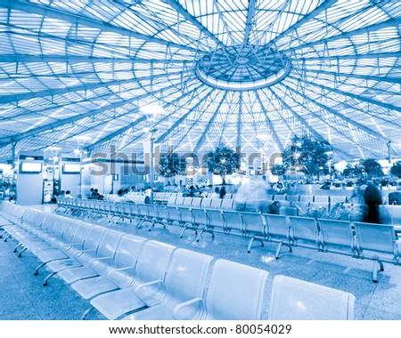 Shanghai Pudong Airport Interior Architecture