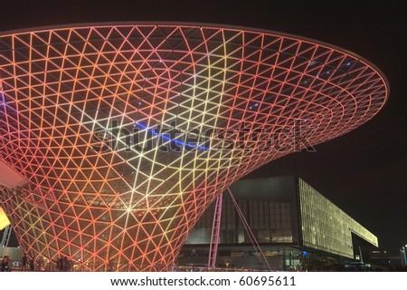 SHANGHAI - SEPT 1: The Expo Boulevard in World Exposition on Sept 1, 2010 in Shanghai, China