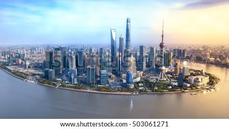 Shanghai Shanghai Stockfoto ©