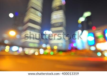 Shanghai world financial center skyscrapers in lujiazui group  - Shutterstock ID 400013359