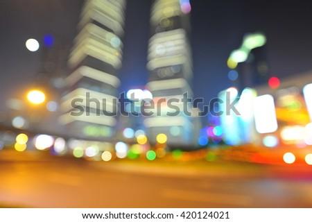 Shanghai world financial center skyscrapers in lujiazui group  - Shutterstock ID 420124021
