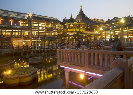 Shanghai Yuyuan(Built in 1559)
