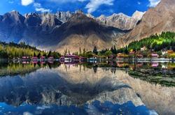 Shangrila Hotel Kachura lake Skardu Pakistan