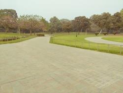 Shantivan, Raj Ghat New Delhi india