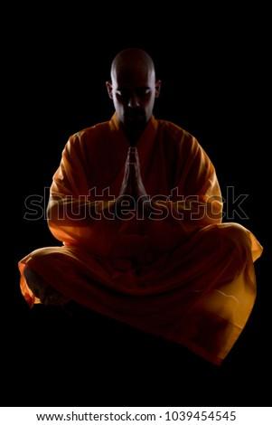 Shaolin Monk Meditating 1039454545