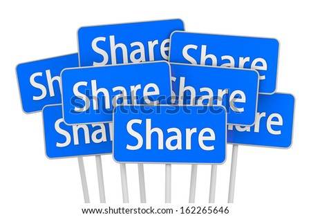 share icon symbol  board