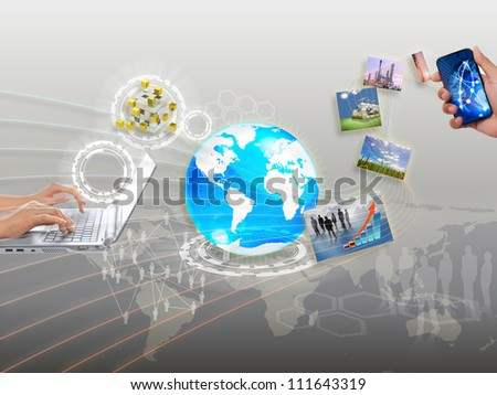 share streaming information, synchronization, cloud networking
