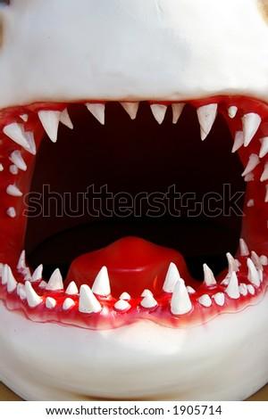 Shark mouth