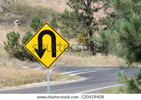 Sharp Turn Sign