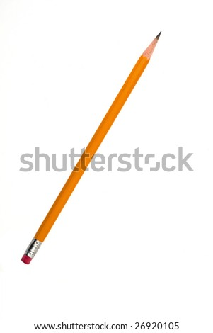 Sharpened pencil