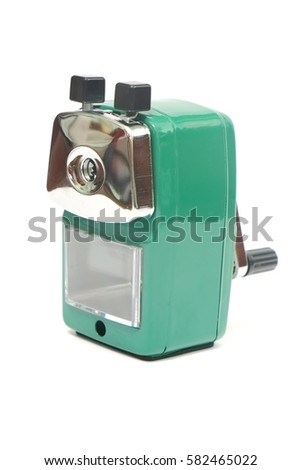 Sharpener isolate on white background #582465022