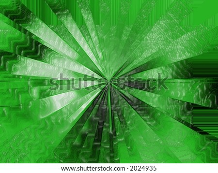 Shattered Green - High Resolution Illustration.  Suitable for graphic or background use.  Click the designer's name under the image for various  colorized versions of this illustration. - stock photo
