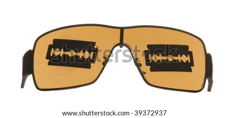 Shavers on the sunglasses