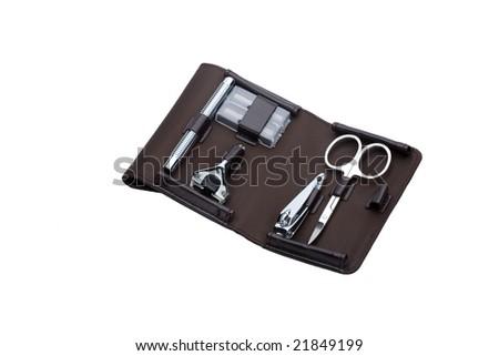 shaving and nail care set