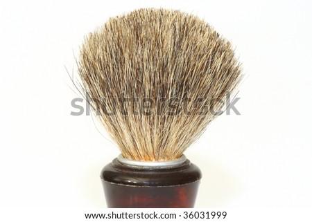 Shaving brush isolated on white background #36031999