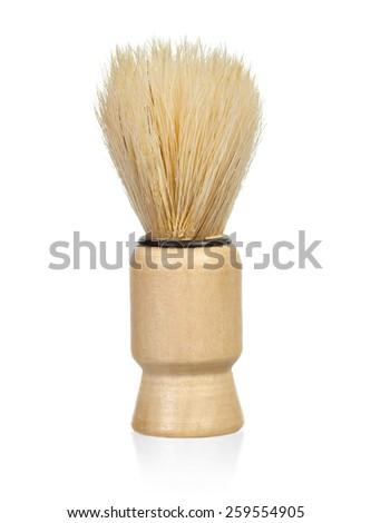 Shaving brush over white background #259554905