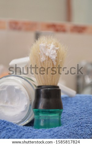shaving brush shaving cream shaving razor for men