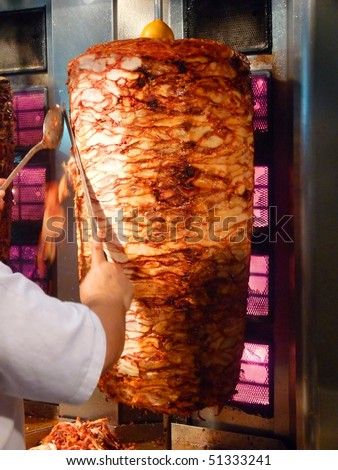 Shawarma is one of the most popular fast food dish in Middle Eastern Countries.