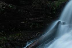Shawnee Waterfall in Rickets Glen State Park, PA