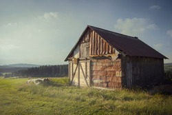 Shed in Winterberg / Ruhrquelle