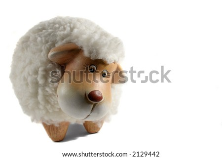 sheep isolated over white background #2129442