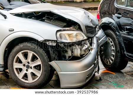 sheet metal damage to cars