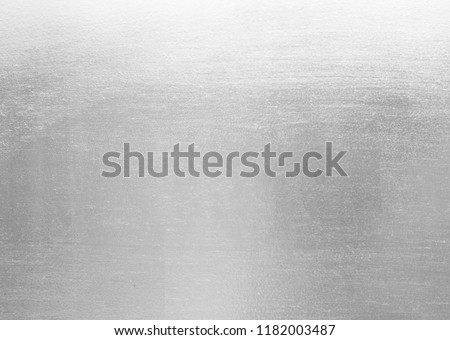 Sheet metal shiny silver