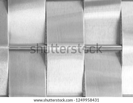 Sheet metal shiny silver #1249958431
