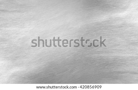 Sheet metal silver solid black background industry. #420856909
