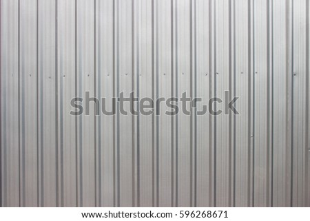 Sheet Metal with little light-texture