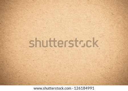 sheet of brown paper background texture