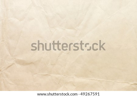 Sheet of paper isolated on white background