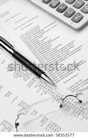 Sheets of a preliminary economic evaluation