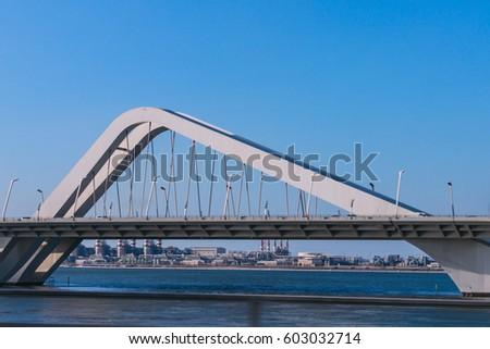 Sheikh Zayed Bridge, Abu Dhabi, United Arab Emirates #603032714